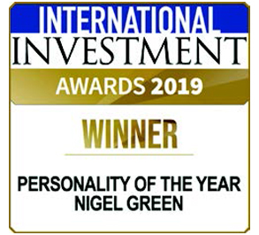 Personality of the Year - Nigel Green