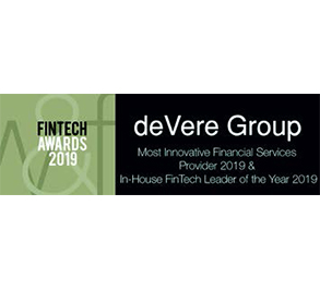 Most Innovative Financial Services Provider & In-House FinTech Leader of the year 2019